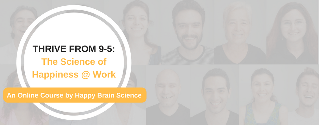THRIVE FROM 9-5-The Science of Happiness @ Work Banner Image 2