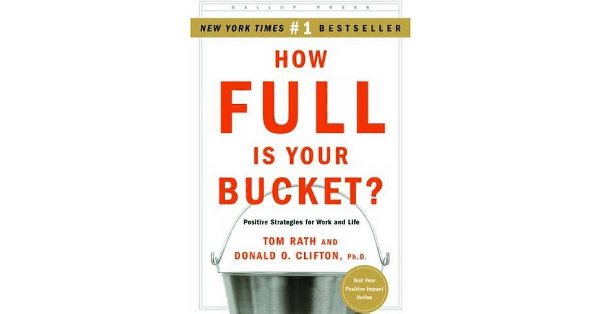 book report how full is your bucket He lies until you want to submerge your head in a bucket of ice  but the book is so full of citations and  rand corporation report that.