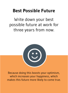 Game card from Choose Happiness @ Work