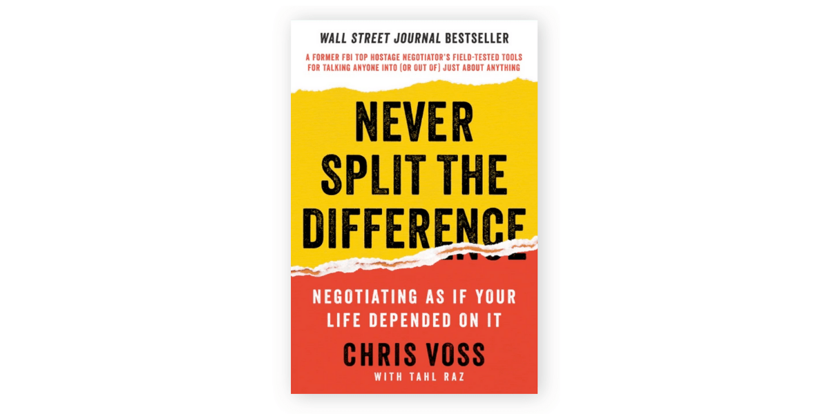 Image of Never Split the Difference book cover